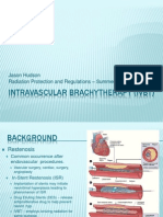 Intravascular Brachytherapy Presentation