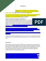 FMCG Report 1