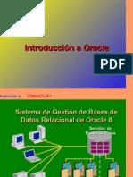 Introduccion a Oracle