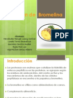 Obtención de Bromelina 2