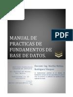 Manual de Practicas de Fundamentos de Base de Datos