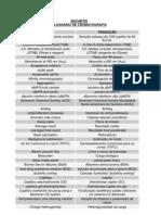 Glossário de Cromatografia