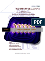 Ensayo. Electromagnetismo.