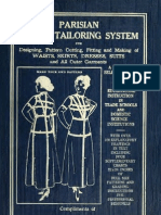 Parisian Ladies Tailoring System