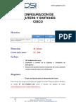 CURSO PRÁCTICO DE CONFIGURACION DE ROUTERS Y SWITCHES CISCO
