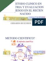 001 el metodo clinico en pediatria y evaluacion del riesgo en el niño