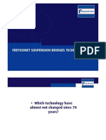 Suspension Bridge Freyssinet technologies