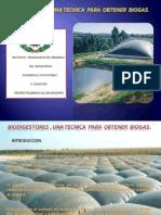 Biodigestores , Una Tecnica Para Obtener Biogas