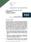 Informe y Escritos Mesa de to de Galicia