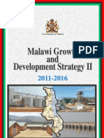 Mgds II Malawi growth and development strategy