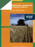 Administracion Y Planificacion de Maquinaria Agricola