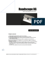 Manual Roadscope XG