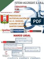 Proceso de Autoevaluacion_Manuel Ildauro