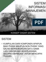 1 Konsep Dasar sistem informasi manajemen