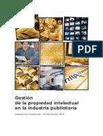 82942394 Gestion de La Propiedad Intelectual en La Industria Publicitaria