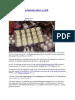 Import Delays Cap Pharmaceutical Growth