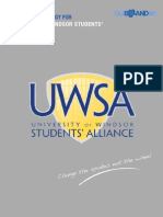 UWSA Marketing Strategy Report