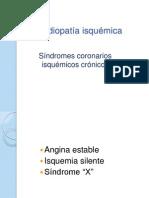 3Arteriopatía coronaria isquemica crónica