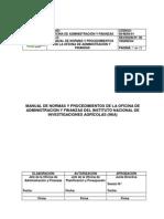 Manual de Normas y Procedimientos INIA