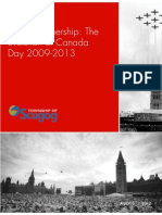 Canada Day Analysis 2009-2013 Report