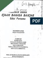 Pedoman Umum Ejaan Bahasa Banjar Edisi Pertama