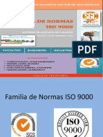 Familia de Normas Iso 9000 Ppt