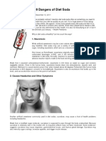 8 dangers of diet soda 12 2011