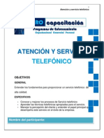 MANUAL CALIDAD EN LA ATENCIÓN TELEFÓNICA NC
