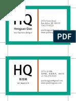 Lab Businesscard
