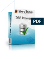 DBF File Repair Software