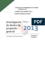 Investigación de diodos de propósito general