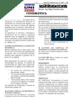 ADUNI - FÍSICA - Nº 2 - CINEMÁTICA - 2013