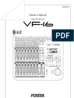 Vf16 Owners Manual
