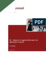 Whitepaper Telecoms Enjeux 4g France Polyconseil