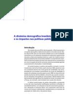 A Dinamica Demografica Brasileira e Os Impactos Nas Politicas Publicas