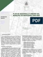 Plan Desarrollo Urbano MONTERREY