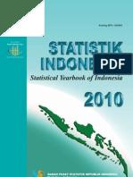 statistik indonesia tahun 2010