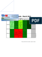 individual timetables march 2013 pdf