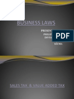 Sales Tax & VAT