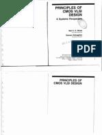 Principles of CMOS VLSI Design - A Systems Perspective (Neil Weste & Kamran Eshragian)