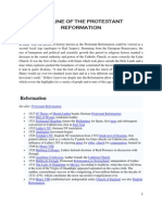 Timeline Of The Protestant Reformation