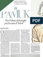 Piergiorgio Odifreddi Intervista Orhan Pamuk - La Repubblica 21.02.2013