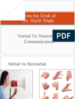 VerbalVsNon-VerbalCommunication.ppt
