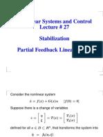 Partial Feedback Linearization