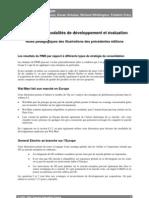 Orientations, modalités de développement et évaluation