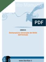 UNESCO Dichiarazione Universale Dei Diritti Animali