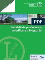 Instalatii de Producere Si Valorificare Biogaz