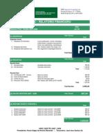 Relatorio Financeiro APEC - Gestão 2007/2008