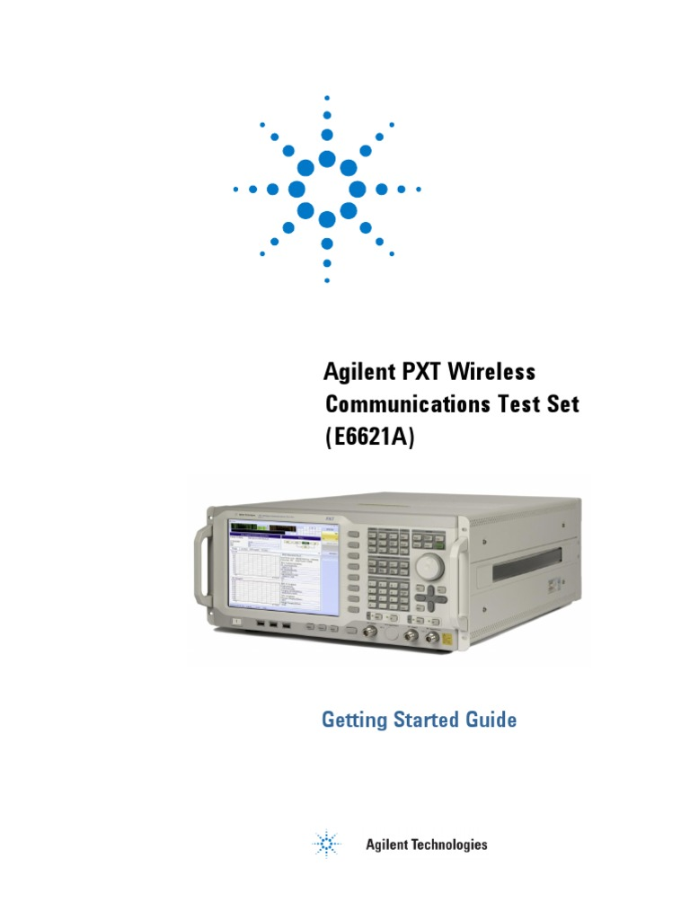 E6621 90001 Agilent Pxt Wireless Communications Test Set Getting Net O View Topic Bmw Reset Tool Circuit Diagram Please Check Started Guide Electrostatic Discharge Remote Desktop Services