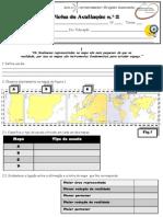 Teste 2 Escalas e Processos de orientação
